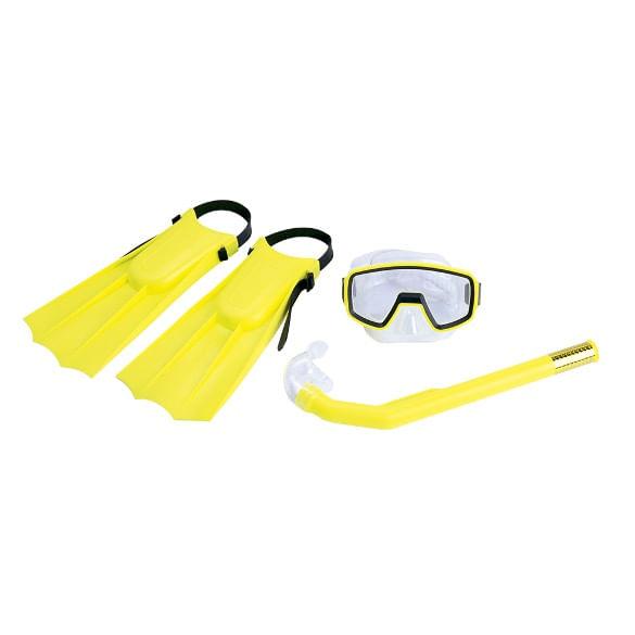 kit-mergulho-pacific-nautika-amarelo