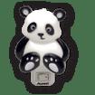 Luminarias-Panda