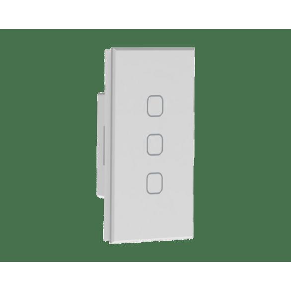 062015---Automacao-Residencial---Interruptor-Touch-3-Cenario---3-Canais-Tholz-Branco