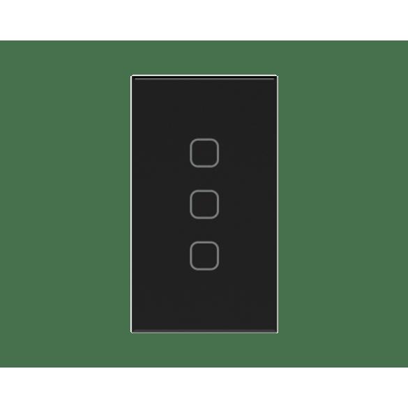 062018---Automacao-Residencial---Interruptor-Touch-3-Cenario-3-Canais-Tholz-Preto