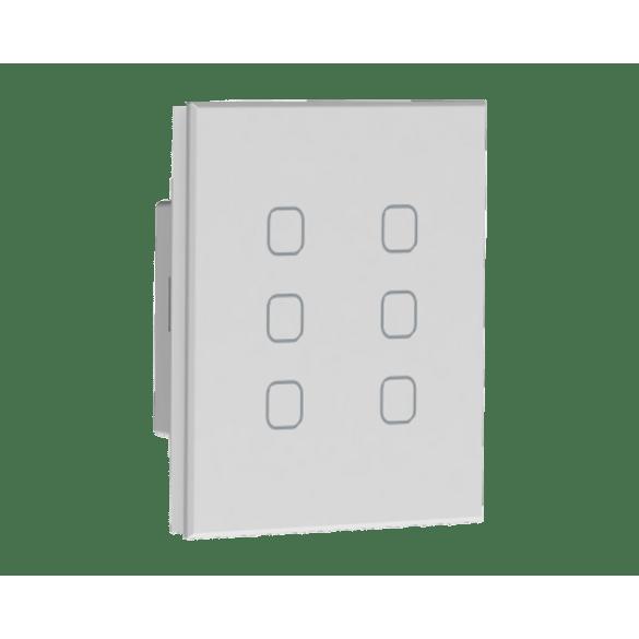 062016---Automacao-Residencial-Interruptor-Touch-Easy-Light-5-Cenario-6-Canais-Tholz-Branco-